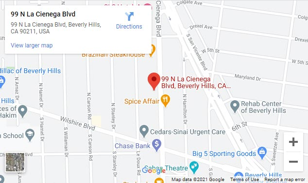 BHVCI Beverly Hills Map